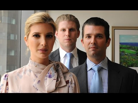 Trump Kids Selling Access to Dad For $1 Million