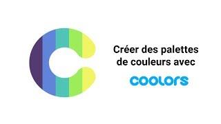 Créer des palettes couleurs avec Coolors.co