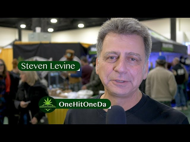 Steven Levine Owner of OneHitOneDa Interview at The Harvest Cup - MassCanrev