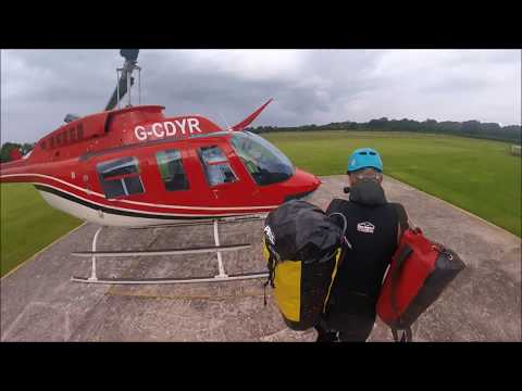 Heli Canyoning (helicopter canyoning) with How Stean Gorge