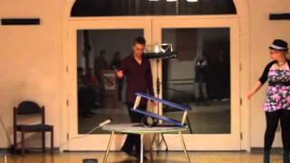 Zirkuswelt Haren (Ems) - Rollbrettartistik