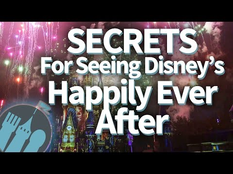 SECRETS For Seeing Disney World's Happily Ever After Fireworks in Magic Kingdom!