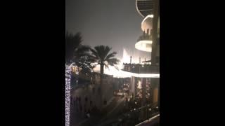 Dubai fountain Con te partirò 29/12/2014
