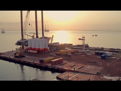 Bolloré Logistics in Gabon - Logistics Oil & Gas Shore Base