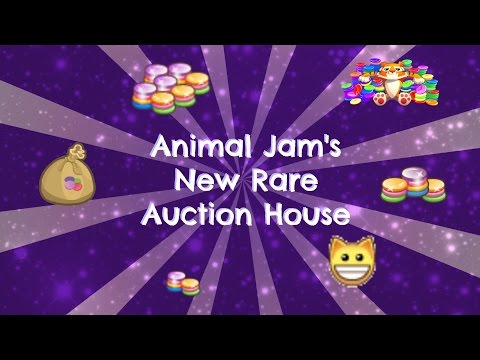 Rare Auction House and Trading Gems for Rares (Animal Jam)