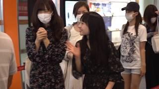 2017/10/02 Juice=Juice 台北松山空港見送り.