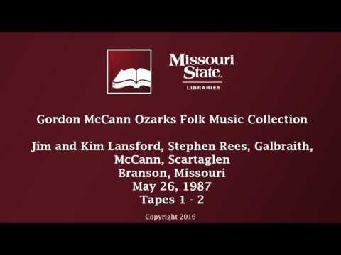McCann: Scartaglen and Welsh, May 26, 1987