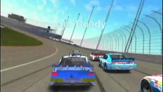 wii NASCAR INSIDE LINE part 1 of 2 wii lock up