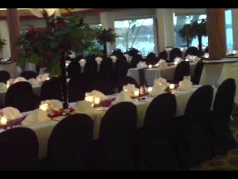 Unique wedding ideas black red and white theme youtube junglespirit Images