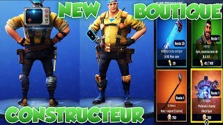 NEW CONSTRUCTEUR - BOUTIQUE - MONETISATION - FORTNITE SAUVER THE WORLD