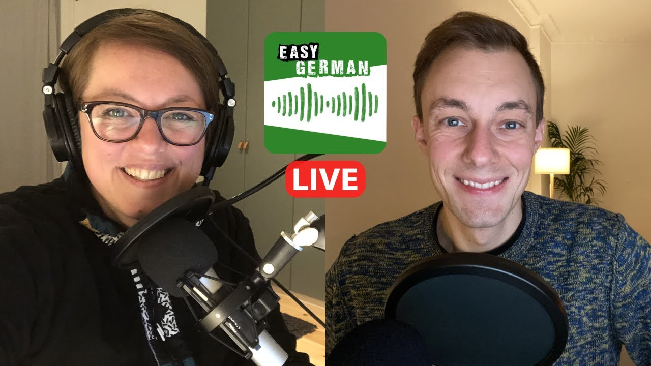 Why are we doing this? | Easy German Podcast LIVE