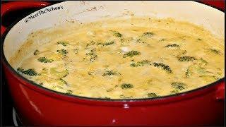 Keto Broccoli and Cheddar Soup [Meal Prep Sunday] Headbanger's Kitchen Recipe