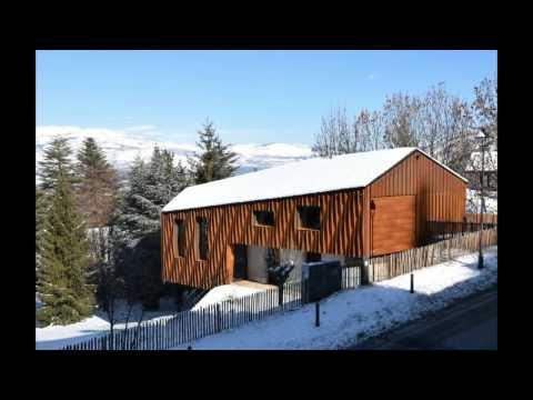 Muntatge d' una casa de fusta contralaminada