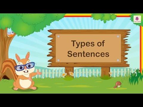 Four Types Of Sentences For Kids | English Grammar | Grade 2 | Periwinkle