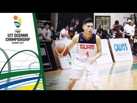 Guam v Tahiti - Full Game - FIBA U17 Oceania Championship 2017