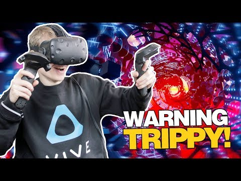 VIRTUAL REALITY MUSIC VISUALIZER! | Fantasynth VR (HTC Vive Gameplay)