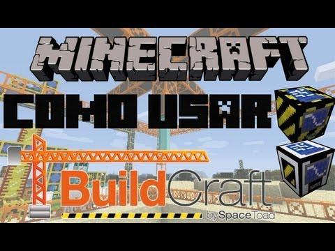 Cómo usar BuildCraft 1.4.5: Constructor, Arquitecto y Planos