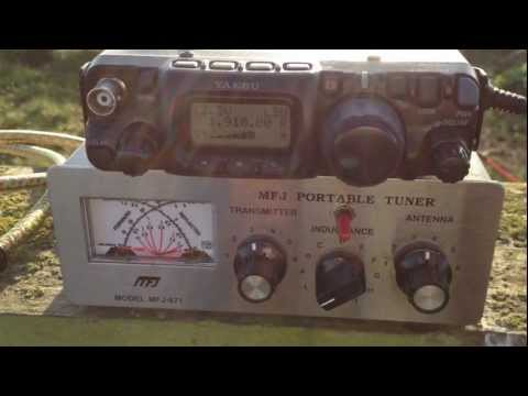 Topband 160 metres with FT-817 Portable. M0UKD