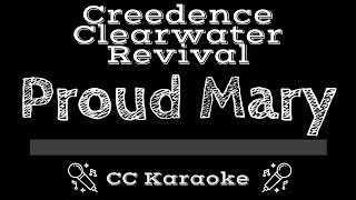 Download Creedence Clearwater Revival • Proud Mary (CC) [Karaoke Instrumental Lyrics]
