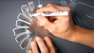 видео трафареты для покраски стен