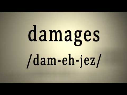 What Are Damages in a Lawsuit ?  |  4structures.com LLC