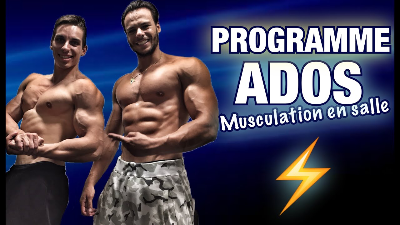 Adolescent programme musculation by bodytime youtube for Programme de musculation