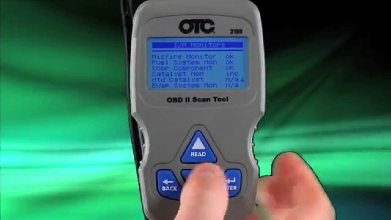 Otc 3109 Scan Tool Youtube
