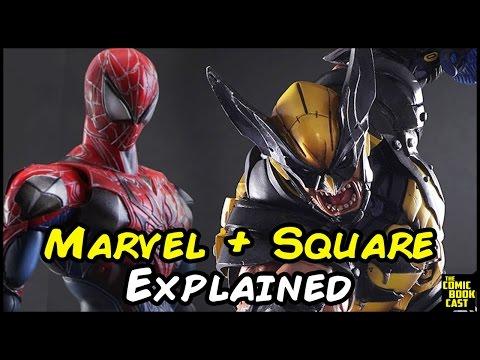 Marvel & Square Enix Partnership Explained