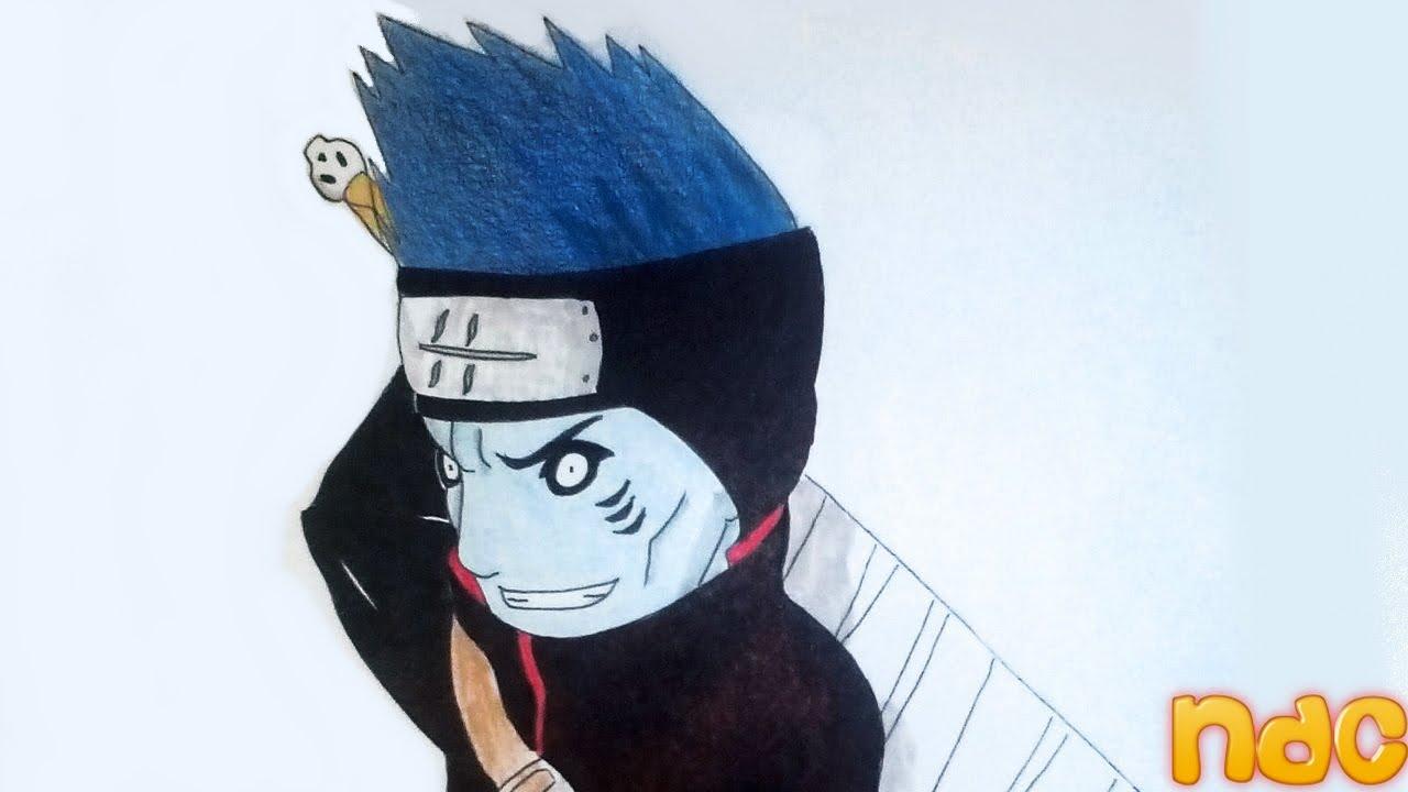 Speed Drawing Chibi Kisame Hoshigaki From Naruto Shippuden Youtube