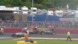Brisca F1 Stock Car Racing- Lochgelly- 26.6.2016 Heat 2