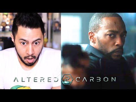 ALTERED CARBON | Season 2 Teaser & Trailer | Anthony Mackie (not Joel Kinnaman) | Netflix | REACTION