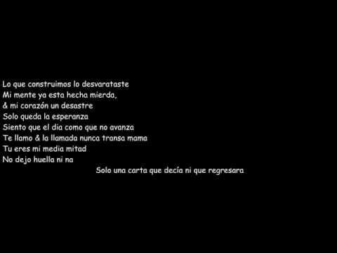 Sin tu amor   J quiles   Letra