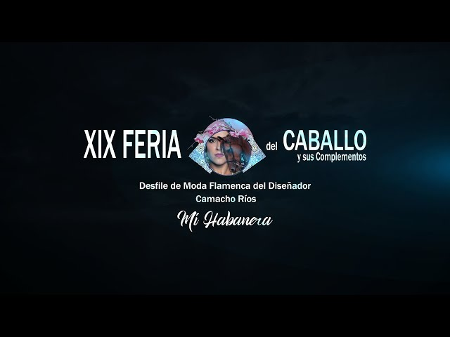 Feria del Caballo 2020: El diseñador Camacho Ríos presenta su colección