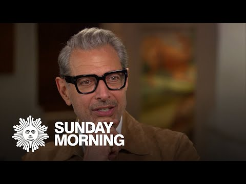 Actor and jazz musician Jeff Goldblum in full bloom