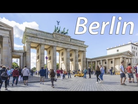 Berlin - The imperial reunited capital of Germany (timelapse) - 4K