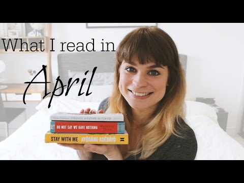 Reading Wrap Up | April 2017