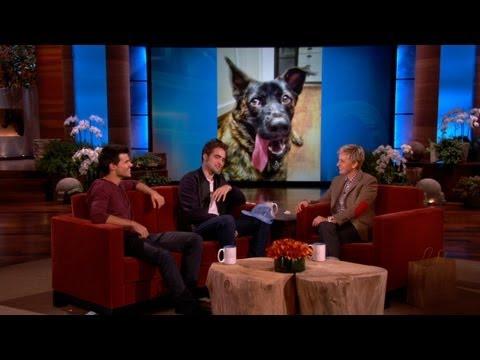 Robert Pattinson on His Dog, Bear