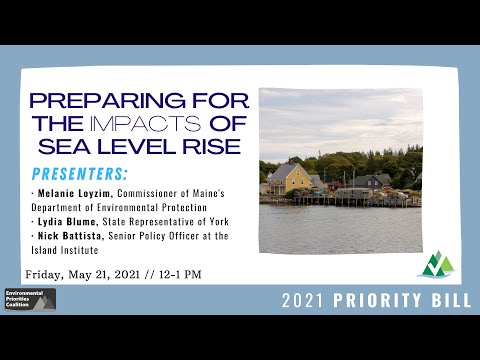 Lunch & Learn: Preparing for the Impacts of Sea Level Rise