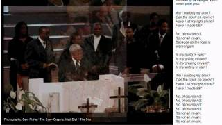 Clarence Williams funeral
