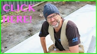 The 3,4,5 Method. Marking Out the Slab! Owner Builder Series Ep 13.