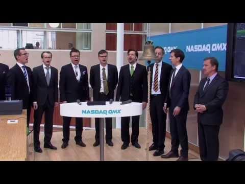 NeuroVives notering på NASDAQ OMX Stockholm