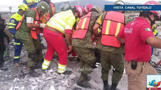 Derrumbe en Cumbres del Sol deja 7 muertos y 15 heridos