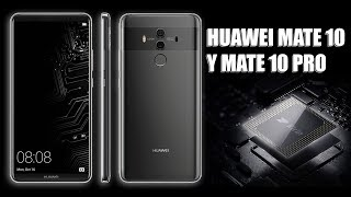 HUAWEI MATE 10 AND MATE 10 PRO - FILTRATIONS