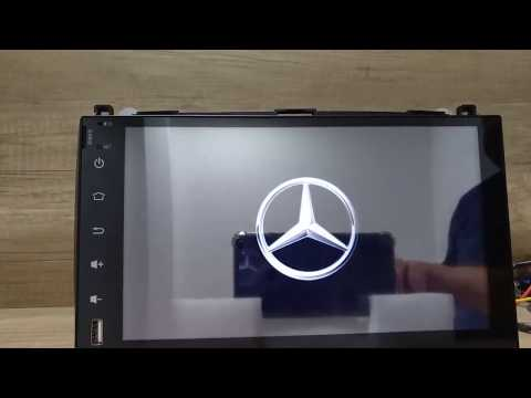 Mercedes Автомагнитола Android 9.0 Автомагнитола Универсальная Сенсорная Автозвук для Мерседес