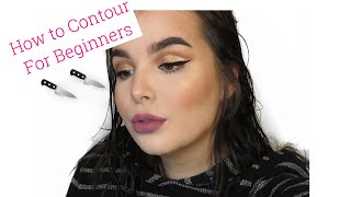 CONTOUR FOR BEGINNERS | HOW TO | SIERRA B BEAUTY