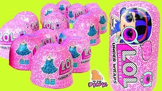 ЛОЛ ОДЕВАЛКИ! #LOL UNDER WRAPS SURPRISE DOLLS + FASHION CRUSH BLIND BAGS - DRESS UP - Распаковка