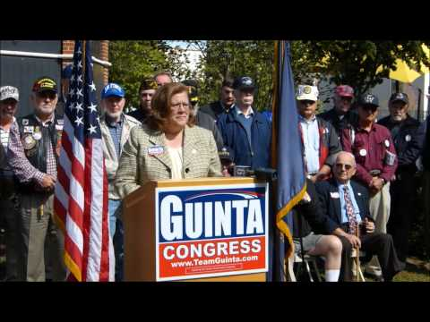 N.H. Sen Sharon Carson speaks at Guinta Vets Rally