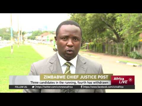 Zimbabwe's government opens interview process for Chief Justice post to members of the public