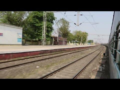 ONBOARD LEGENDARY TAMIL NADU EXPRESS : JOURNEY COMPILATION : [Ghats Coverage + Speedy Skips]