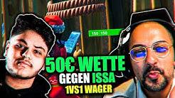 😨🤑 Die 50€ WETTE gegen ISSA | Wer von unseren LEUTEN GEWINNT das 1VS1? | Amar
